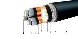 کابل برق سه فاز دماوند